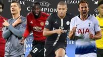 Champions League: Nhiều cặp đấu nóng bỏng