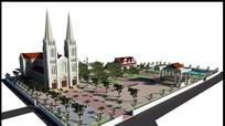 Giáo xứ Yên Hòa khởi công xây dựng Thánh đường mới