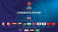 U23 Việt Nam có thể rơi vào bảng đấu tử thần tại VCK U23 Châu Á 2020