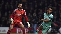 Arsenal trở lại top 4 nhờ sai lầm của thủ môn Watford