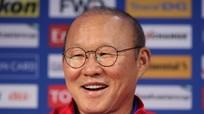 Thầy trò HLV Park Hang-seo và người hâm mộ nhận tin vui về SEA Games 30