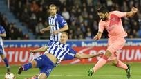 Carlos Alena và Suarez đưa Barcelona tiến sát ngôi vương