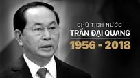 Lãnh đạo Lào gửi điện chia buồn Chủ tịch nước Trần Đại Quang từ trần.