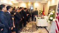 Lễ viếng và mở sổ tang nguyên Tổng Bí thư Đỗ Mười tại Mỹ
