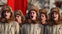 Hùng tráng tái hiện cuộc duyệt binh huyền thoại trên Quảng trường Đỏ