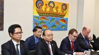 Thủ tướng Nguyễn Xuân Phúc: Kim ngạch thương mại Việt-Mỹ đạt trên 55 tỷ USD