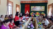 Tăng cường trao đổi kinh nghiệm giữa Hội LHPN Quế Phong và huyện Sầm Tớ (Lào)