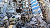 Bé trai 10 tháng tuổi sống sót thần kỳ trong vụ nổ khí gas ở Nga