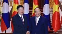 Thủ tướng Lào đồng chủ trì Kỳ họp Ủy ban Liên Chính phủ Việt Nam - Lào