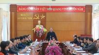 Kỳ Sơn: Lấy phiếu tín nhiệm đối với các đồng chí Ủy viên BTV Huyện ủy
