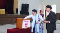 Quỳ Hợp: Công bố kết quả lấy phiếu tín nhiệm đối với chức danh do HĐND huyện bầu