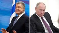 """Tổng thống Ukraine: """"Hoặc là Putin, hoặc là Poroshenko"""""""