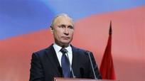 Tổng thống Putin tuyên bố ngừng tuân thủ Hiệp ước hạt nhân tầm trung