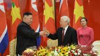 """Chủ tịch Kim Jong-un: Chuyến thăm Việt Nam mở ra """"một trang mới"""" trong quan hệ hữu nghị"""