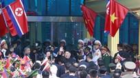 Chủ tịch Kim Jong-un lên tàu về nước, kết thúc chuyến thăm Việt Nam