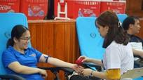Hơn 450 người dân tham gia Ngày hội hiến máu tình nguyện ở Thanh Chương
