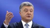"""Tổng thống Ukraine xin lỗi vì khẩu hiệu bầu cử: """"Hoặc là Poroshenko, hoặc Putin"""""""