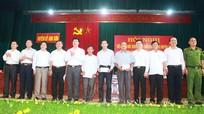 Ban Thường vụ Huyện ủy Anh Sơn đối thoại với bí thư chi bộ khối, bản