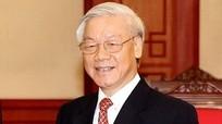 Tổng Bí thư, Chủ tịch nước Nguyễn Phú Trọng gửi điện mừng tân Tổng thống Ukraine