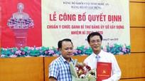 Nghệ An: Công bố quyết định chuẩn y Bí thư Đảng ủy Sở Xây dựng nhiệm kỳ 2015-2020