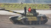 Bất ngờ tại cuộc đua xe tăng tại Nga: Đội Việt Nam lại nhất bảng trong ngày thi thứ hai