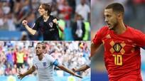 10 cầu thủ xuất sắc nhất World Cup 2018: Modric và Kane kém xa Hazard