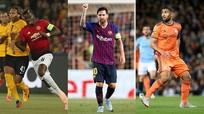 """Đội hình tiêu biểu Champions League: Messi, Pogba """"tiếp đạn"""" cho Fekir"""