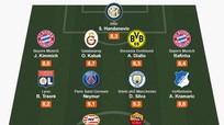 Đội hình tiêu biểu Champions League tuần này: Silva giữ thể diện cho Premier League