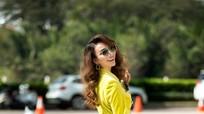 Hoa hậu Ngọc Diễm hóa quý cô thị thành sành điệu xuống phố