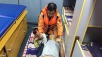 Thuyền viên tàu cá bị mất bàn tay trên biển