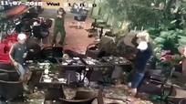 Cảnh sát nổ súng trấn áp hai nhóm hỗn chiến ở quán cà phê
