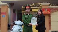 Từ Hà Nội về Nghệ An nhận lại xe máy bị mất cắp 7 năm trước