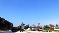 Cưỡng chế thu hồi đất thực hiện dự án đường 72m tại thành phố Vinh