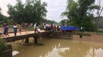 Tìm thấy thi thể người đàn ông mất tích dưới sông Đào ở Nghệ An