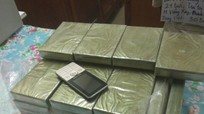 Bắt đối tượng vận chuyển 30 bánh heroin từ Lào về Việt Nam tiêu thụ