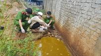 Nghệ An: Phát hiện cơ sở xả nước thải chưa qua xử lý ra môi trường
