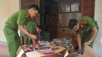 Thu giữ hàng nghìn đồ chơi trẻ em nguy hiểm tại thành phố Vinh