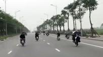 Nhóm 15 thanh niên tụ tập đua xe, quay clip đăng lên mạng vì 'thấy buồn'