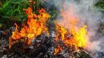 Đốt rác trong vườn nhà, một phụ nữ ở Nghệ An chết cháy