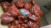 Hơn 8 tạ thịt bốc mùi hôi thối từ Hà Nội vào Nghệ An tiêu thụ