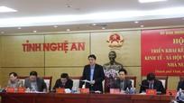 Nghệ An: 10 nhóm giải pháp chỉ đạo, điều hành kinh tế - xã hội năm 2018