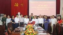 Đảng ủy Khối Các cơ quan tỉnh, Thành ủy Vinh ký kết phối hợp tăng cường giám sát, quản lý đảng viên