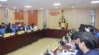 Thường trực HĐND tỉnh Nghệ An quyết định tổ chức kỳ họp lần thứ 20