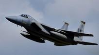 Tiêm kích F-15 Mỹ đâm xuống vùng biển ngoài khơi Nhật