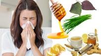 10 bài thuốc tự chế trị ho dị ứng thời tiết cực nhanh