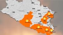 [Infographic] Lửa thiêu rụi hơn 54 ha rừng ở Nghệ An trong đợt nắng đỉnh điểm