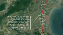 Đường cao tốc Bắc - Nam đoạn Nghi Sơn - Diễn Châu có 6 làn xe