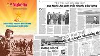 Mời độc giả đón đọc Báo Nghệ An số đặc biệt chào mừng kỷ niệm 30/4-1/5