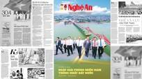 Đón đọc Báo Nghệ An số đặc biệt Kỷ niệm 46 năm Ngày giải phóng miền Nam, thống nhất đất nước