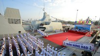 Lễ thượng cờ 2 tàu hộ vệ tên lửa Gepard 3.9 Quang Trung, Trần Hưng Đạo